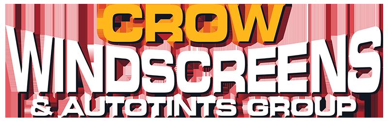 crow windscreen & autotints group lettering